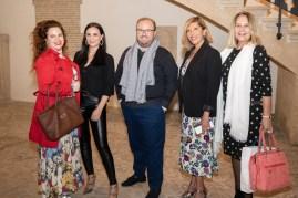 Mercedes Fuentes, Meritxell Ortiz, Tommy Ferragut, Gemma Muñoz y Águeda Ropero
