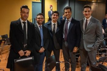 Adolfo Fernandez, Luis Garcia, Pablo Juanico, Juan Gonzalo Ospina y Felipe Herrera