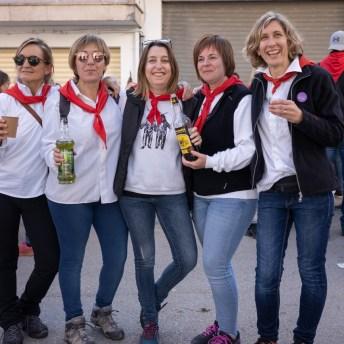 Cati Matanalas, Marga Canet, Concepció Rodríguez, Margalida Coll y Cristina Canet