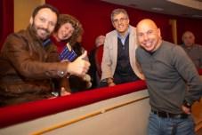 Yago Parada, Maria Llompart, Miquel Mañogil y Xavi Torres