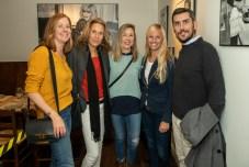 Jèssica Ivarsson, Carolien Stapper, Asun Prats, Laura Van y Mateu Llompart