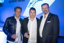 Marco Cleries, Jose Raya y Juan Manuel Serra