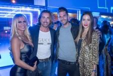 Magdalena Serapio, Carlos Iscar, Miguel Ascanio y Pilar Flores