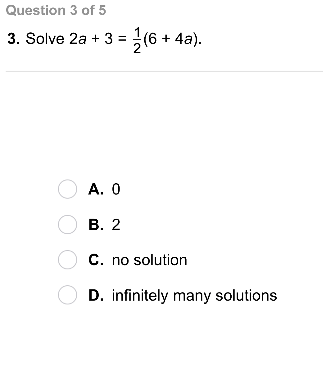 Algebra 1 2 4 Independent Practice Solving Equations With