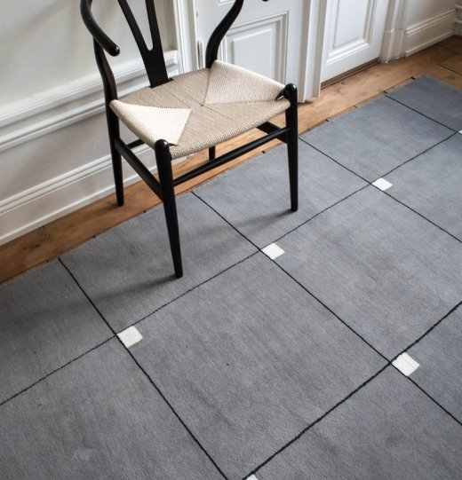 Modern rug from Nordic Knots