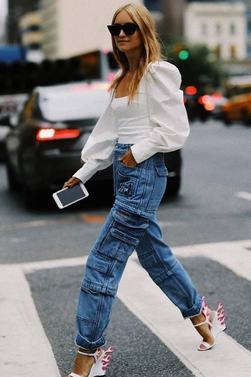 balenciaga, cargo pants, zip pants, utility jeans