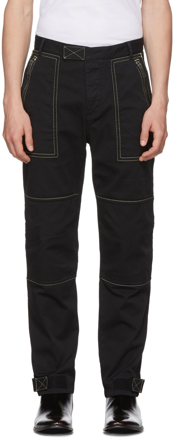 cargo pants, camouflage, carpenter pants, utility jeans, pants, jeans, contrast stitching, givenchy