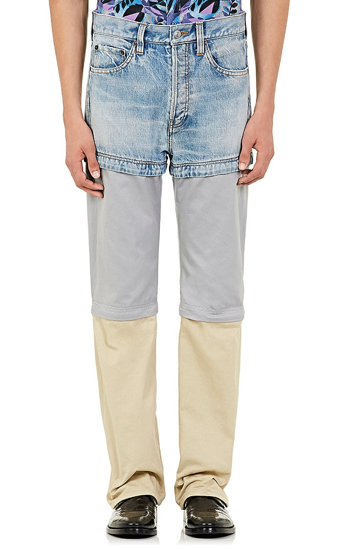balenciaga, convertible pants