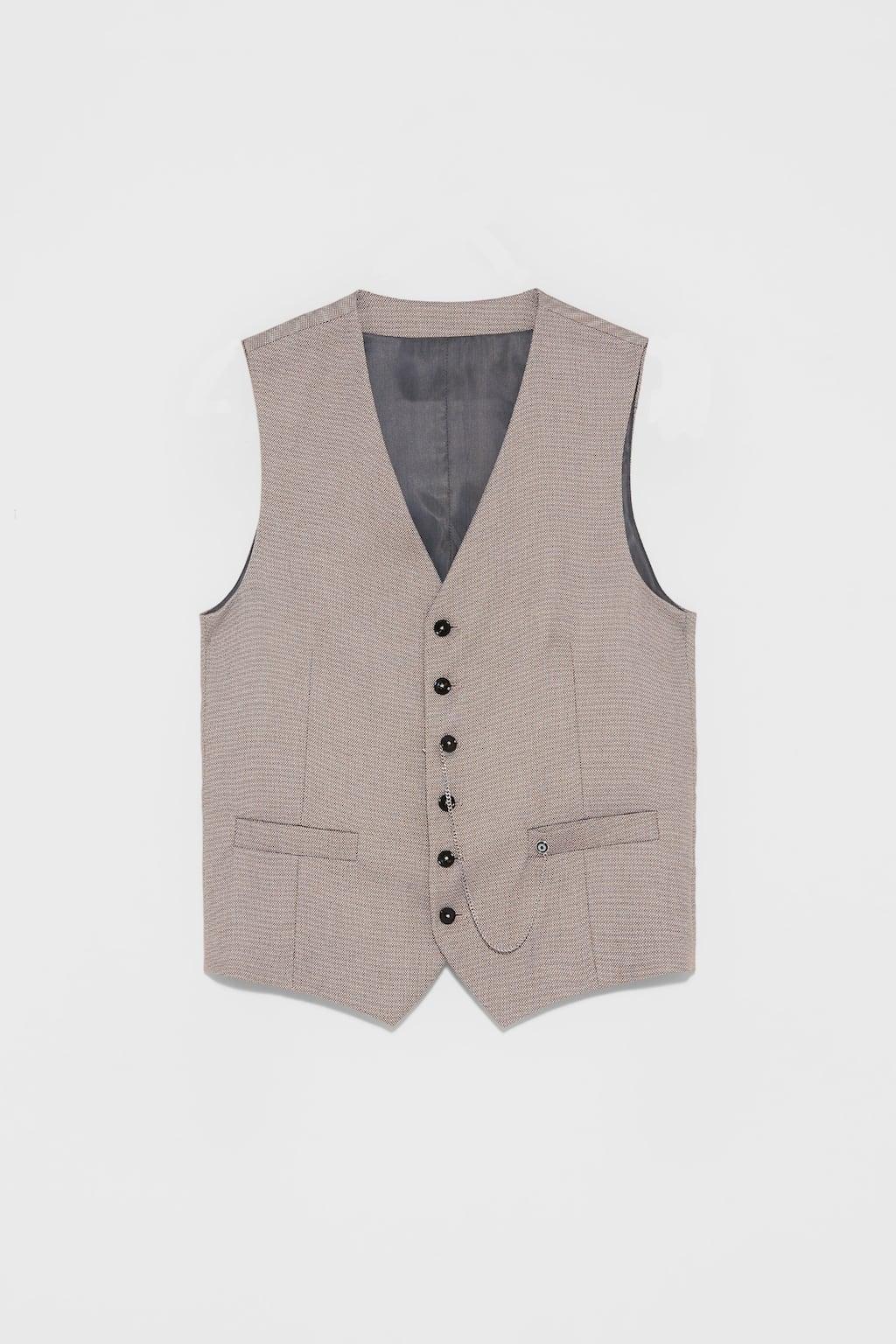 vest, waistcoat, zara