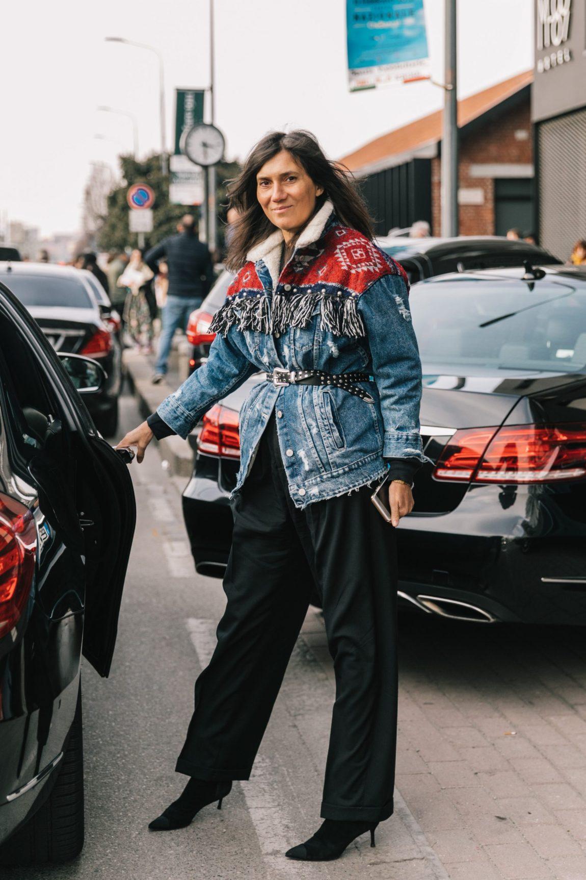 embroidered jacket, sherpa jacket, denim jacket