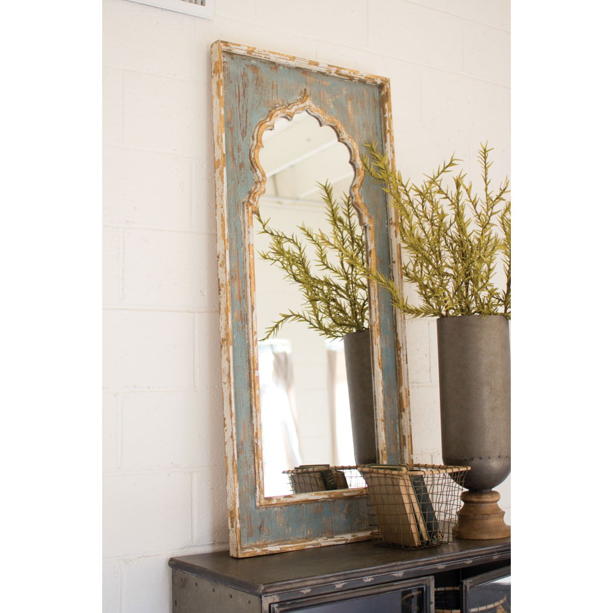 Kalalou Rustic Mirror