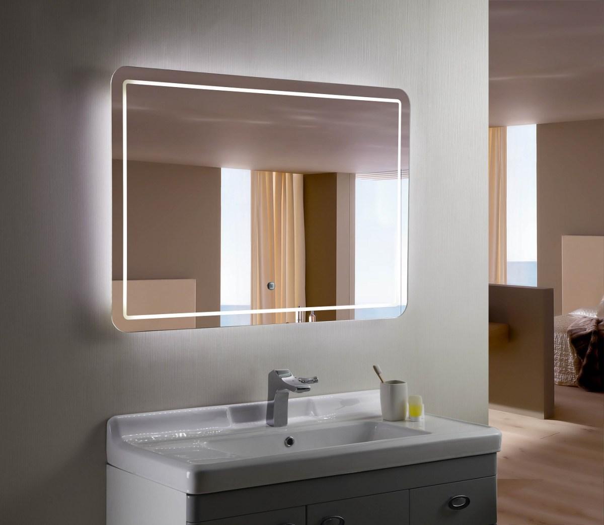 Double Vanity Mirror