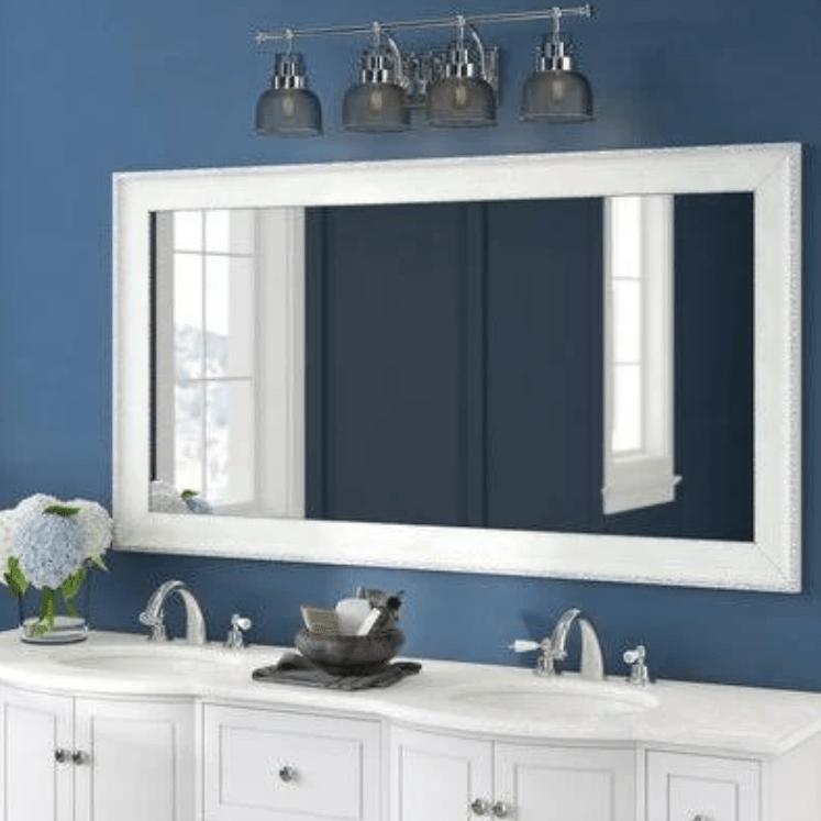 bathroom, vanity, mirror