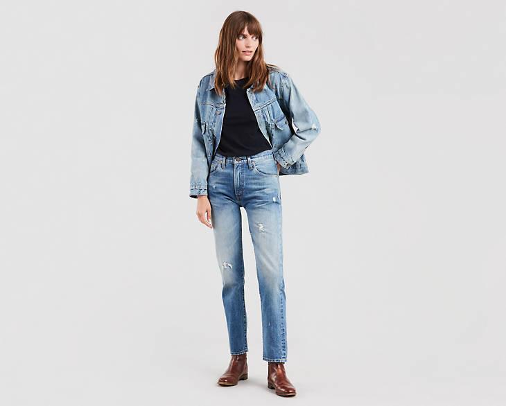 Levi's jeans, levi's 505, 505 jeans, LVC, levi's vintage clothing