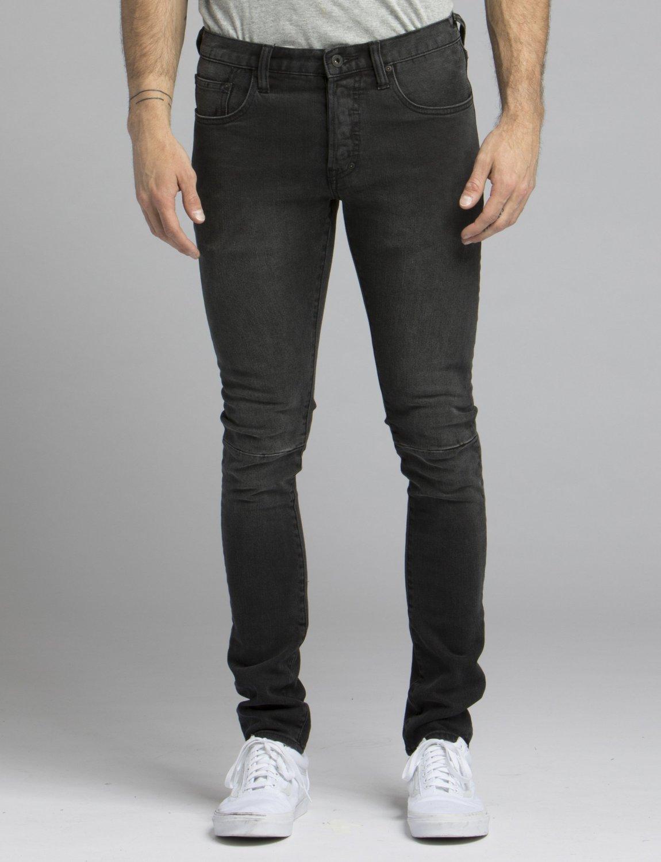 PRPS, windsor jeans, faded black denim, stretch denim, black denim