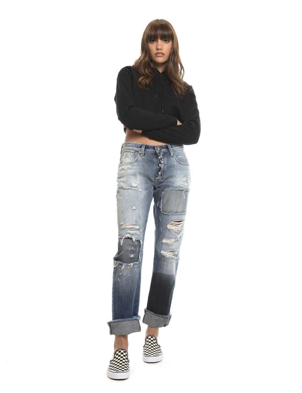 PRPS, windsor jeans, faded black denim, stretch denim