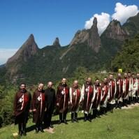 Na serra dos Órgãos no estado do Rio de Janeiro