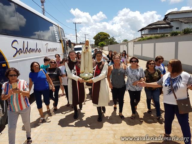 Em Itabela – BA, Semana Missionaria na Paroquia Nossa Senhora Aparecida