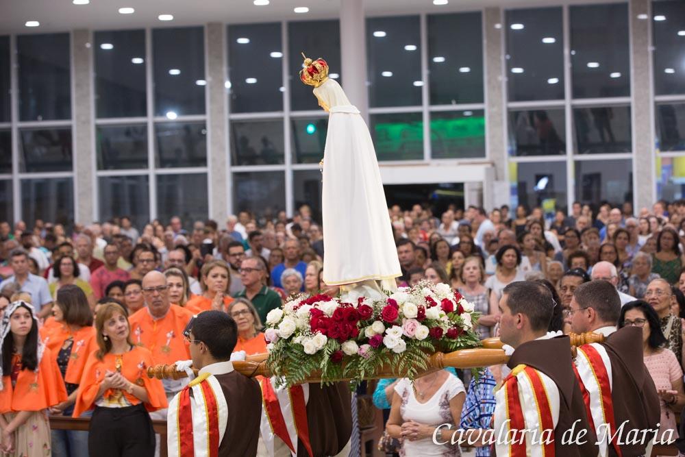 Em Guarapari - ES, Missões Marianas na Paróquia Nossa Senhora da Conceição