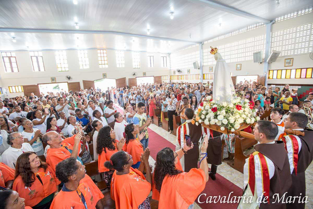 Em Lauro de Freitas – BA, Missão Mariana na Paróquia Nossa Senhora Aparecida e Santa Catarina de Sena