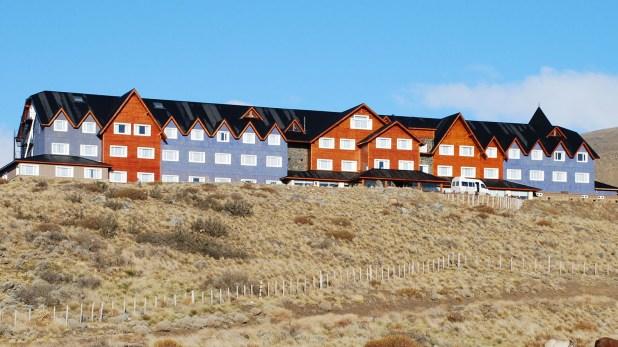 El hotel Alto Calafate (foto NA)