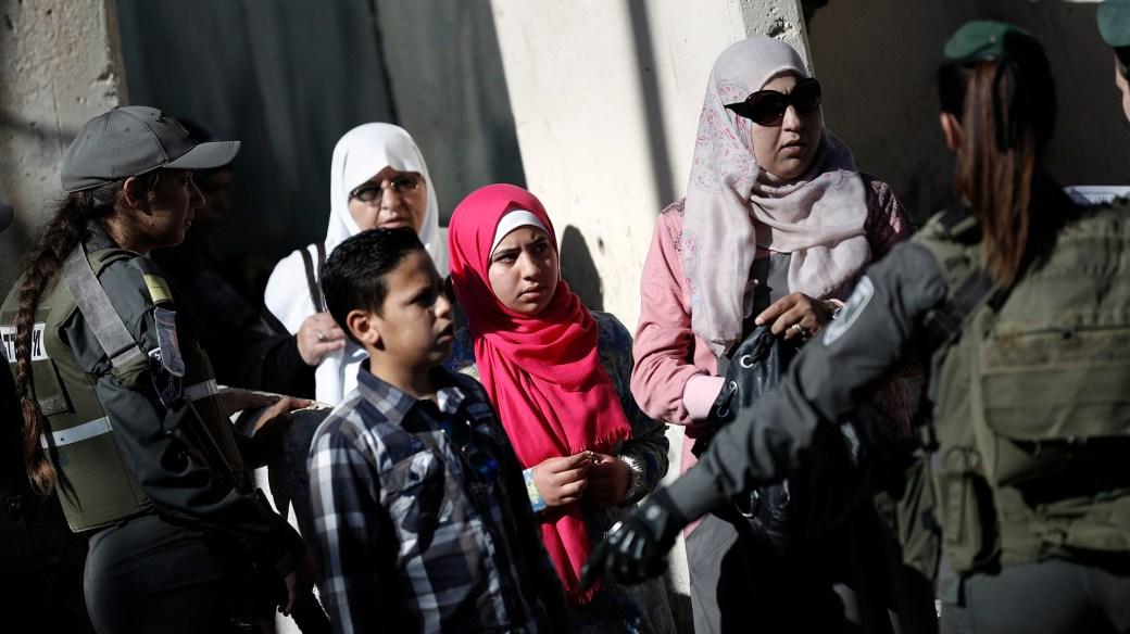 Palestinos en Gaza (AFP)