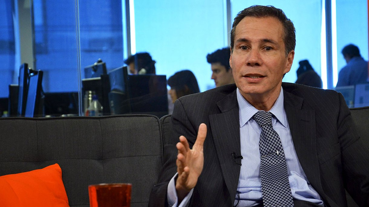 Alberto Nisman en una entrevista con Infobae pocos días antes de su muerte (Martín Rosenzveig)