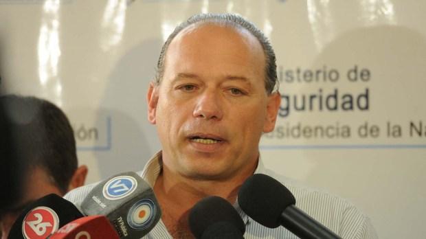 Sergio Berni (Télam)