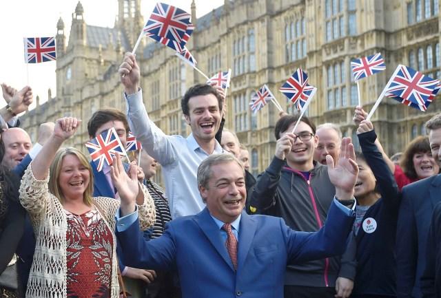 Nigel Farage, líder del partido de la Independencia del Reino Unido, resultó uno de los principales ganadores delreferéndum sobre la permanencia o salida de la Unión Europea (Reuters)
