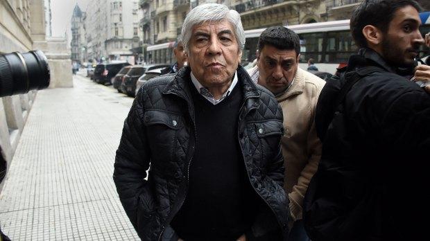 Hugo Moyano y otro frente judicial en su contra (Nicolás Stulberg)