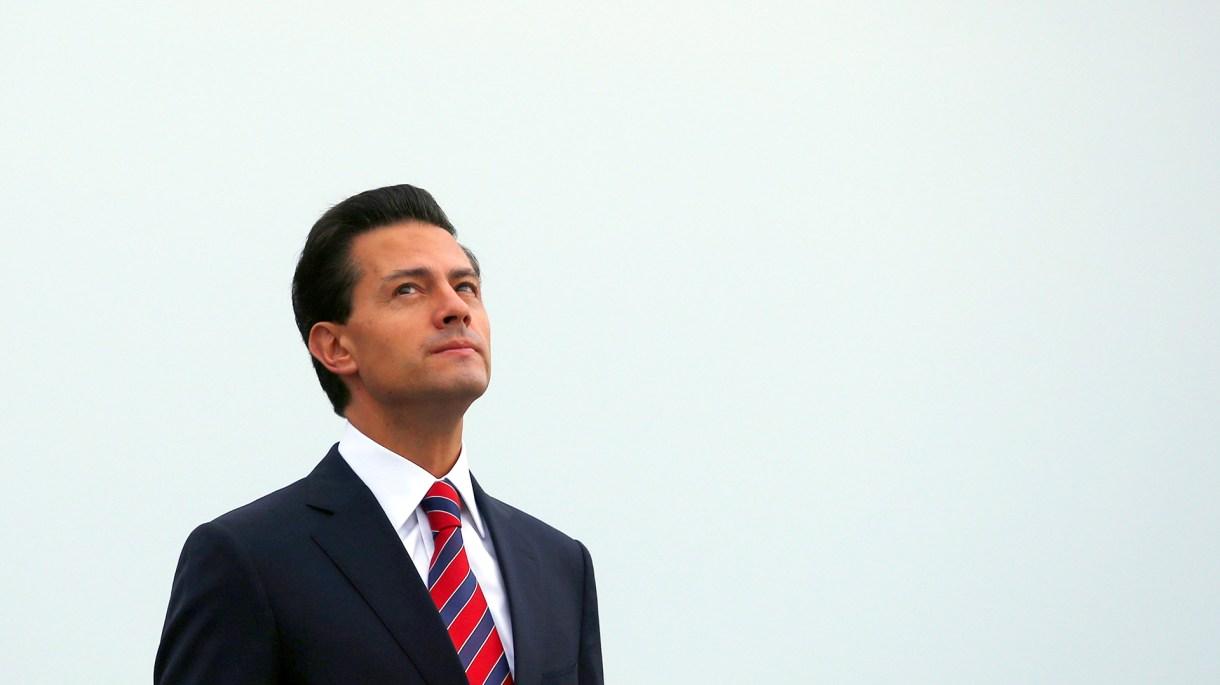 Enrique Peña Nieto cuando aún era Presidente de México. (Foto: Reuters)