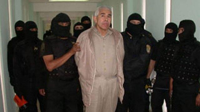 Caro Quintero cuando estuvo detenido.