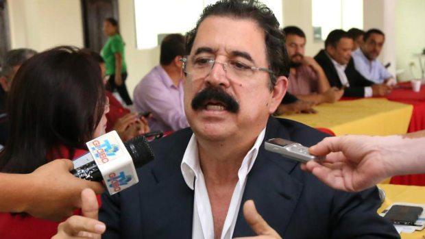 El ex presidente hondureño Manuel Zelaya