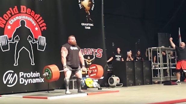 Eddie Hall en Strongman
