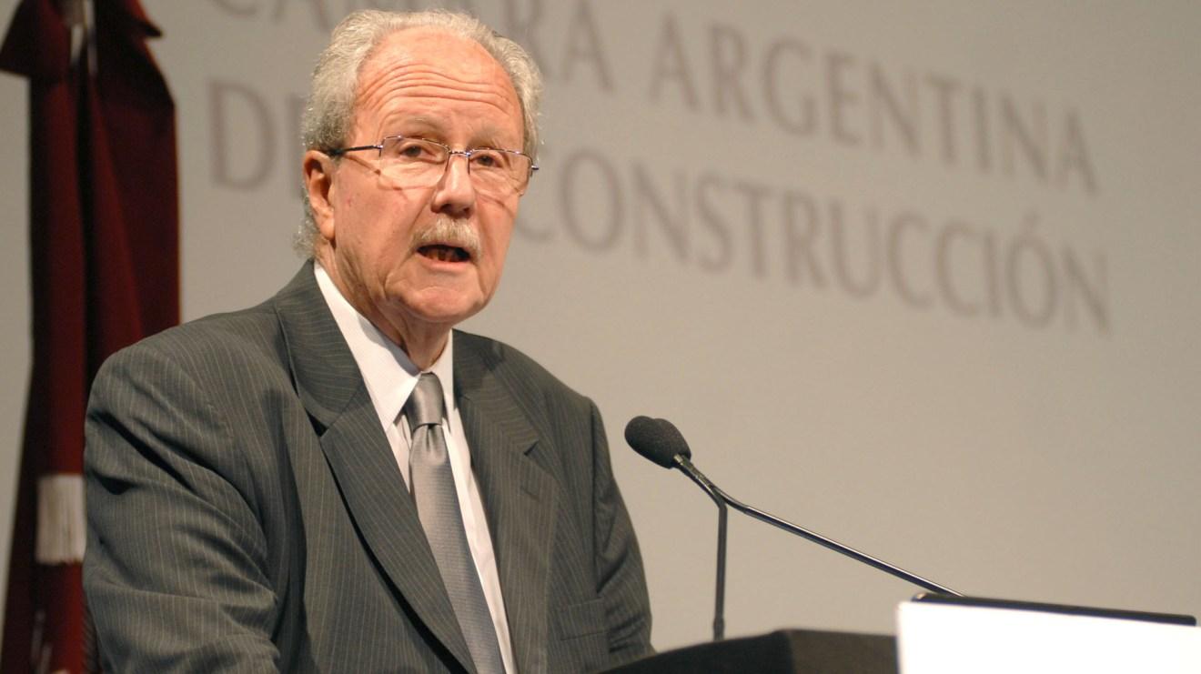 12.- Carlos Wagner, el presidente de la Cámara de la Construcción fue el último en entregarsecuando el resto comenzaba a declarar en Comodoro Py
