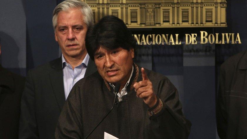 Evo Morales pretende presentarse nuevamente a elecciones pese a que no puede hacerlo sin una reforma constitucional (EFE)
