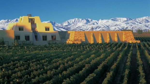 Bodega Catena Zapata, Luján de Cuyo, Mendoza