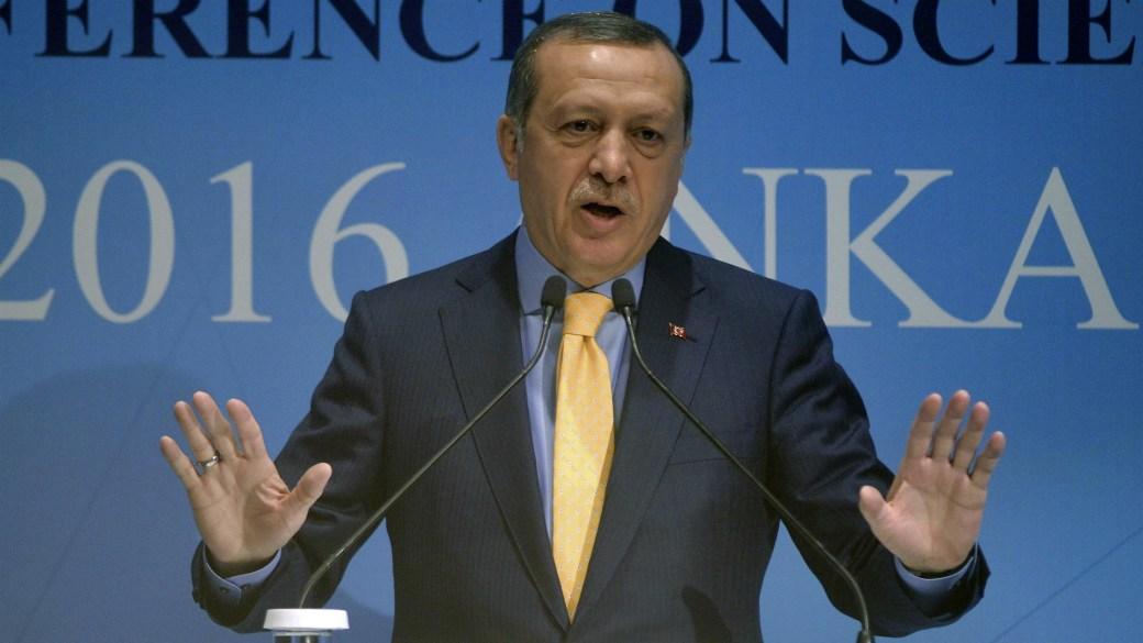 Recep Erdogan, presidente de Turquía (AFP)