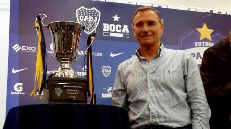 Royco Ferrari, vicepresidente de Boca Juniors