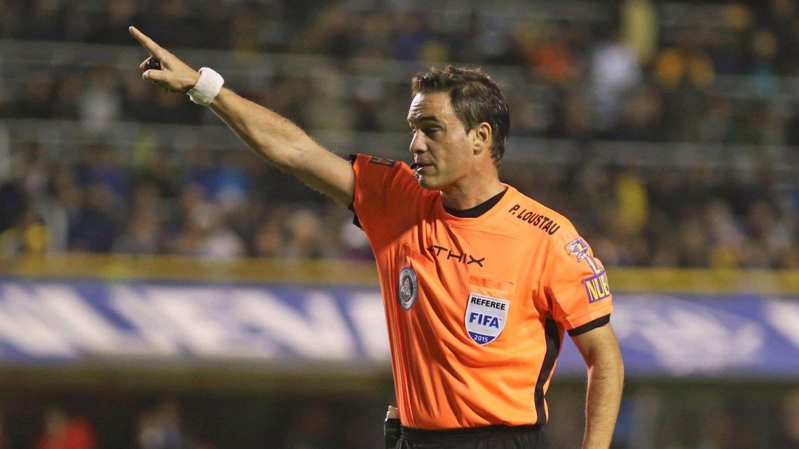 Patricio Loustau será el árbitro de la Supercopa Argentina entre Boca y River en Mendoza el 14 de marzo(NA)