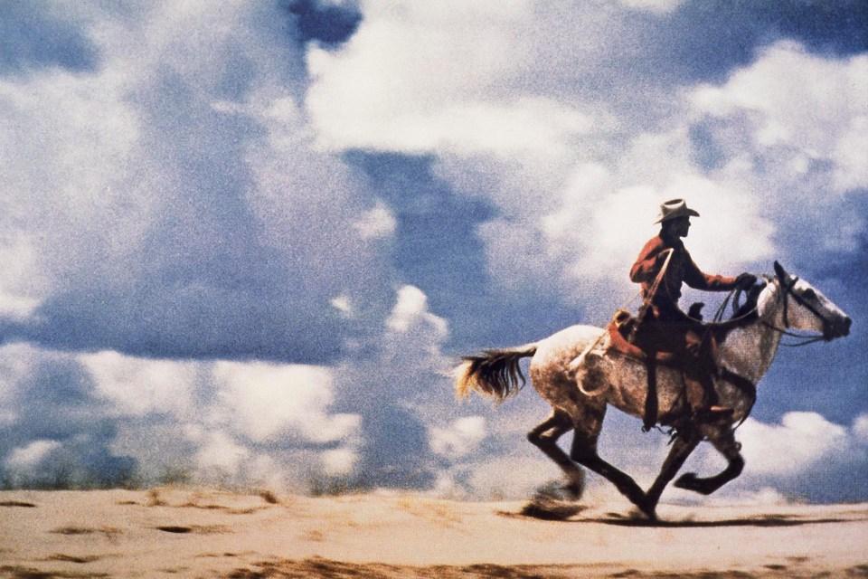 """""""Sin título (vaquero)"""" (Richard Prince, Estados Unidos, 1989)"""