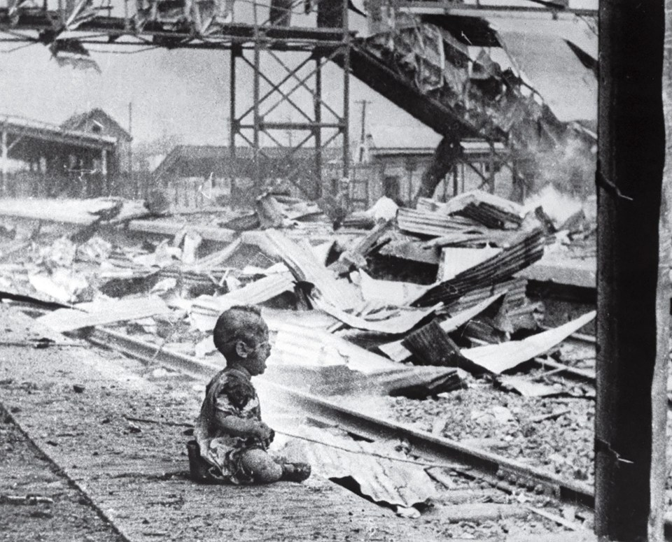 """Sábado sangriento"" (H.S. Wong, China, 1937)"