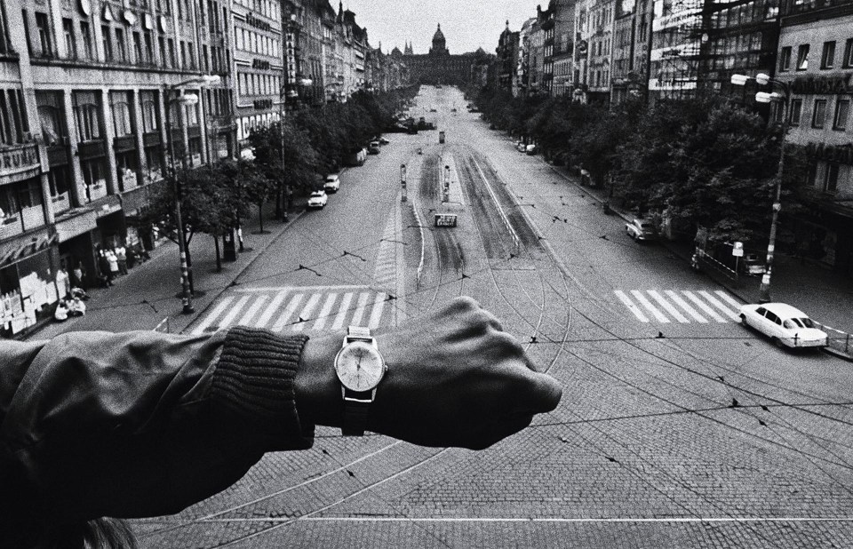 """Invasión de Praga"" (Josef Koudelka, República Checa, 1968)"