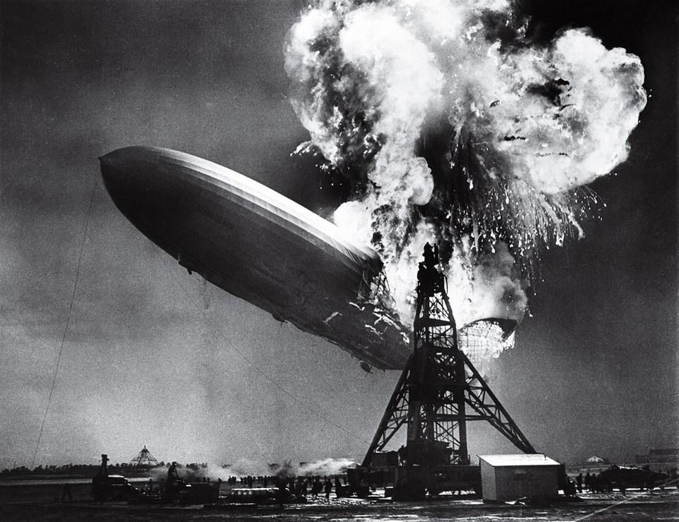 """""""El desastre de Hindenburg"""" (Sam Shere, 1937)"""