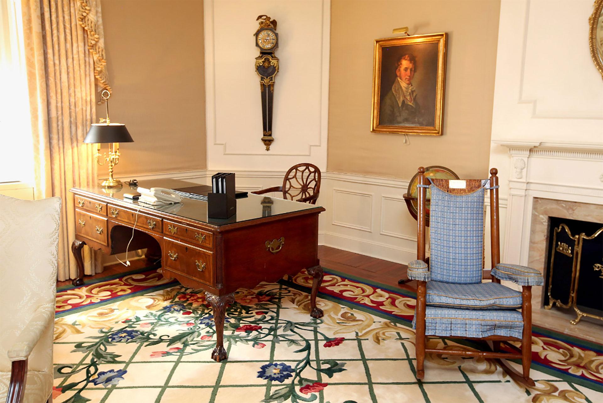 La suit presidencial del Waldorf Astoria