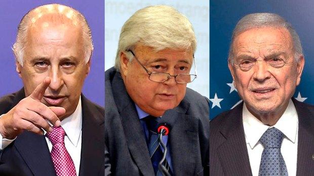 Del Nero, Ricardo Texeira y José María Marín, el trío de poderosos brasileños