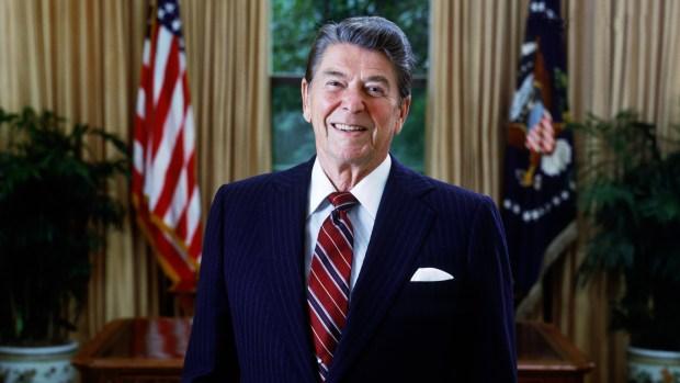 Ronald Reagan, primero actor, luego presidente