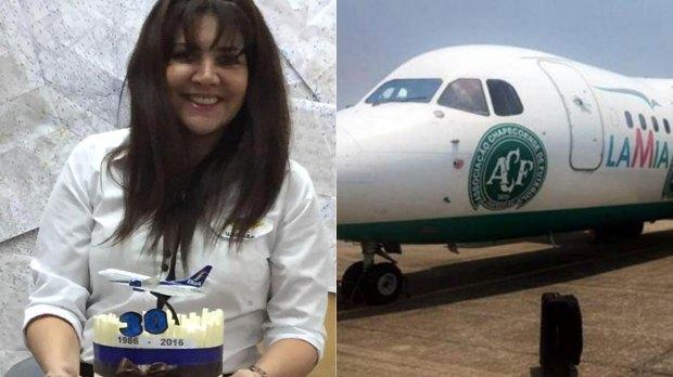 Celia Castedo, la mujer que recibió el plan de vuelo, hoy refugiada en Brasil