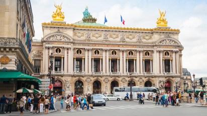 Palais Garnier, en París