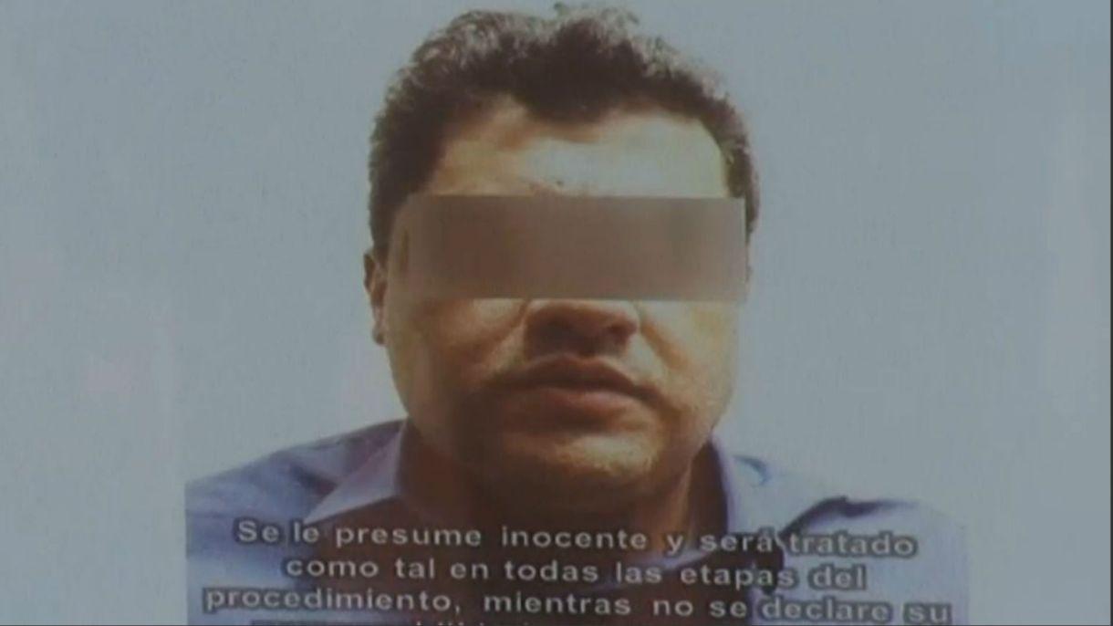 """Juan José Esparragoza Monzón, hijo de """"El Azul"""" (Foto: Reuters/captura de pantalla)"""